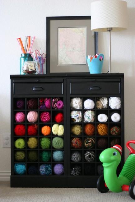 wine-rack-for-yarn-storage-434x650