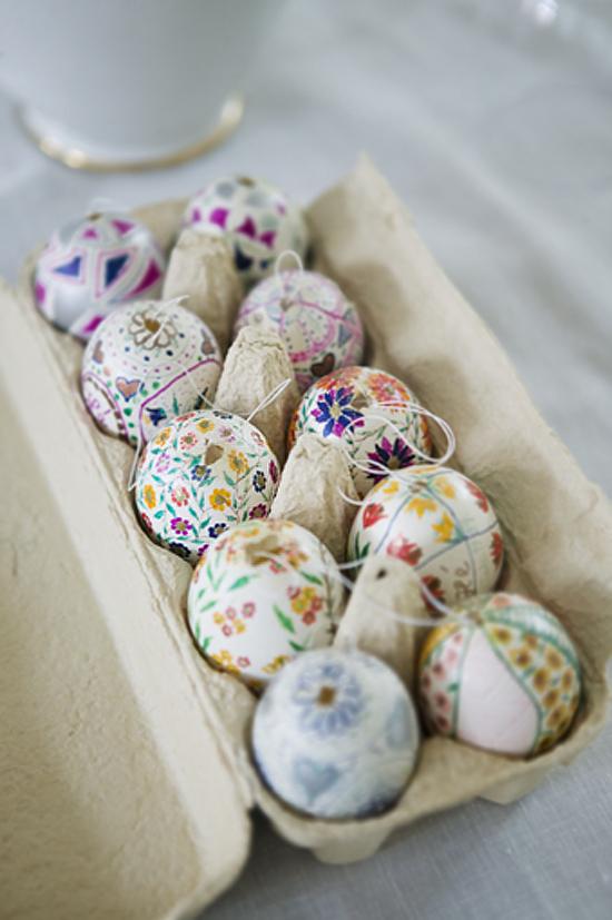 Πασχαλινή-διακόσμηση-με-αυγά2