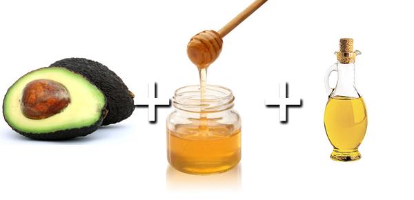 avocado-honey-oliveoil