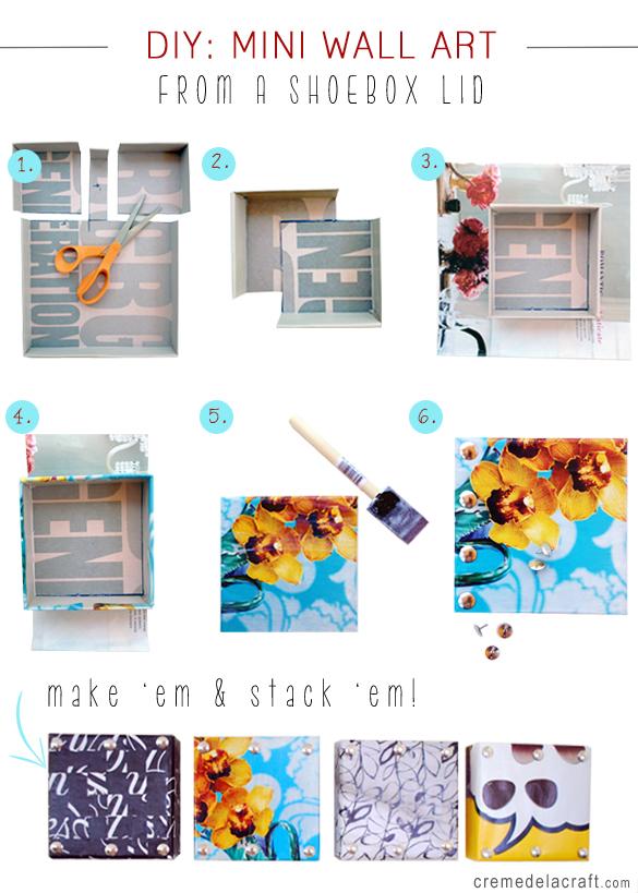 DIY-Project-How-To-Make-Mini-Wall-Shoebox-Art-Tutorial-Creme-de-la-Craft